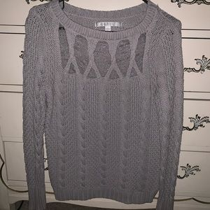 Lauren Conrad lace sweater.